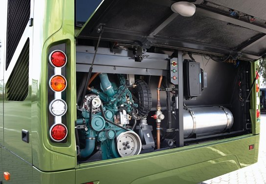 Volvo 7700 hybrid engine (Volvo Bus)